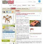 Bureau design multimédia Co-Pied dans blog Nostrodomus-mai 2012, mobilier design modulable sur mesure et coloré Les Pieds Sur La Table