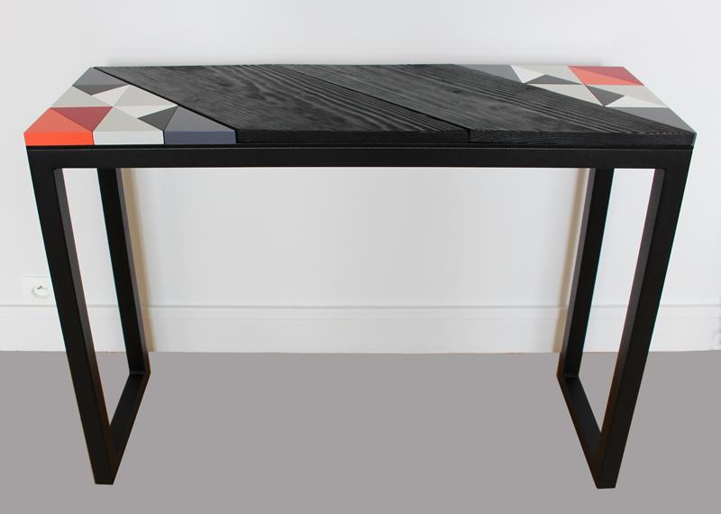 Console Origami 10 ans Série Limitée éditée en 10 exemplaires numérotés Design mobilier contemporain Les Pieds Sur la Table