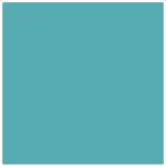 Bleu azur : Nouvelle couleur de laque contemporaine sur meubles design sur mesure Les Pieds Sur La Table créateur et fabricant de meubles modernes sur mesure