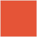 Rouge géranium : Nouvelle couleur de laque contemporaine sur meubles design sur mesure Les Pieds Sur La Table créateur et fabricant de meubles modernes sur mesure