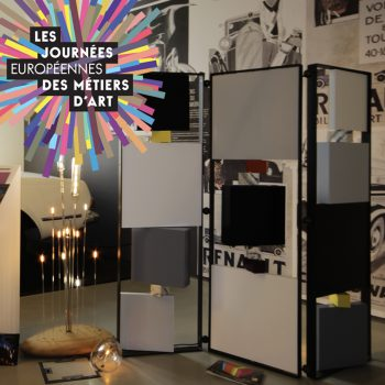 Métiers d'art, Exposition mobilier design Les Pieds Sur La Table aux Journées européennes des Métiers d'Art 2016 au MUS de Suresnes