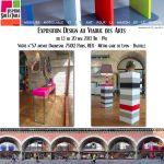 Exposition Mobilier Design au Viaduc des Arts Paris, les meubles Les Pieds Sur La Table