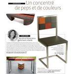 Mobilier design en couleurs dans La semaine. Meubles design modulables sur mesure et colorés Les Pieds Sur La Table