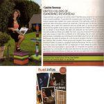 Sandrine Reverseau portrait d'une créatrice de meubles pétillante ! Fondatrice de la société et de la collection du même nom Les Pieds Sur La Table, Meubles design sur mesure et en couleurs !