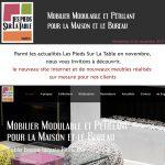 Newsletter novembre 2017 Mobilier design modulable Les Pieds Sur La Table 2