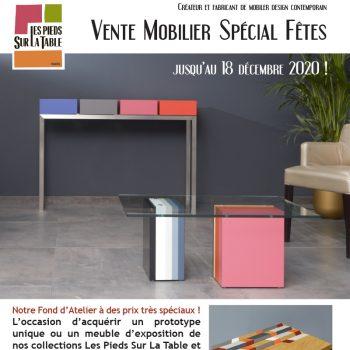 Vente spéciale fêtes Mobilier moderne Les Pieds Sur La Table Paris. Meubles pièces uniques et prototypes de collection à prix spécial