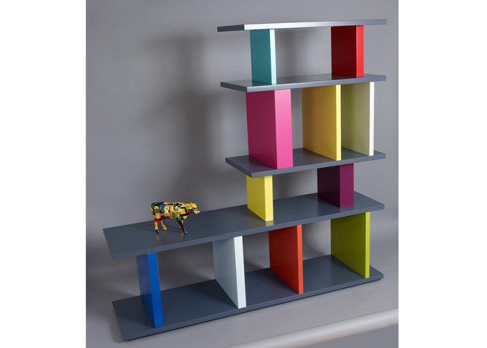 bibliothèque étagère modulable sur mesure design en L mobilier Les Pieds Sur La Table