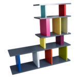 bibliothèque étagère modulable sur mesure design et en couleurs en L mobilier Les Pieds Sur La Table