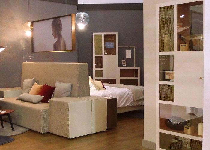 mobilier chambre hotel prototype dressing design Chambre 306 mobilier Les Pieds Sur La Table