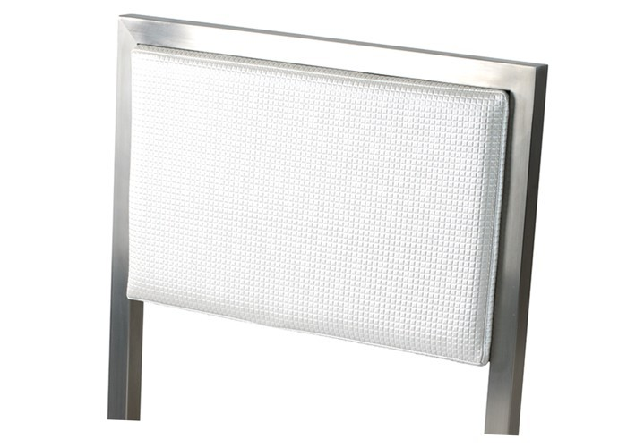 pied de bar inox simple table bistro acier inox carre mm plateau absculant pied unique with. Black Bedroom Furniture Sets. Home Design Ideas