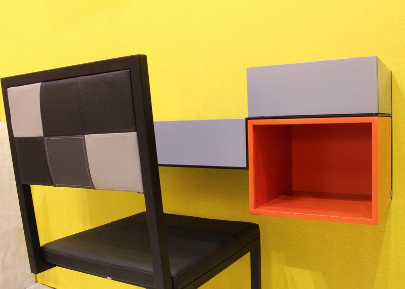 Mural console desk pas pied french furnitures les pieds sur la table