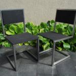 chaise d'extérieur caoutchouc Pied-Tine par Les Pieds Sur La Table