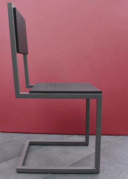Chaise d 39 ext rieur caoutchouc pied tine mobilier les for Table exterieur sur mesure