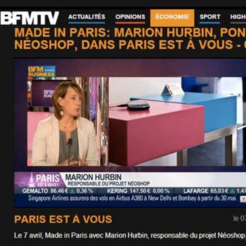 Console design connectée sur BFMTV. Mobilier Les Pieds Sur La Table
