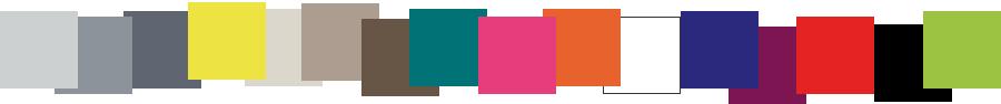 Palette de couleurs mobilier Les Pieds Sur La Table finition laque contemporaine, couleurs sur mesure, créations de meubles design contemporains sur mesure