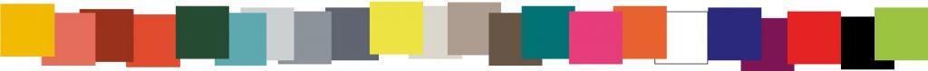 Palette de couleurs mobilier Les Pieds Sur La Table finition laque contemporaine, couleurs sur mesure, créations de meubles design contemporains sur mesure 2019