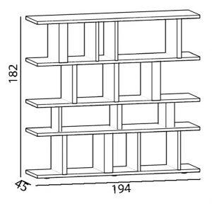 bibliothèque étagère modulable sur mesure Tu Lis Pied mobilier Les Pieds Sur La Table croquis