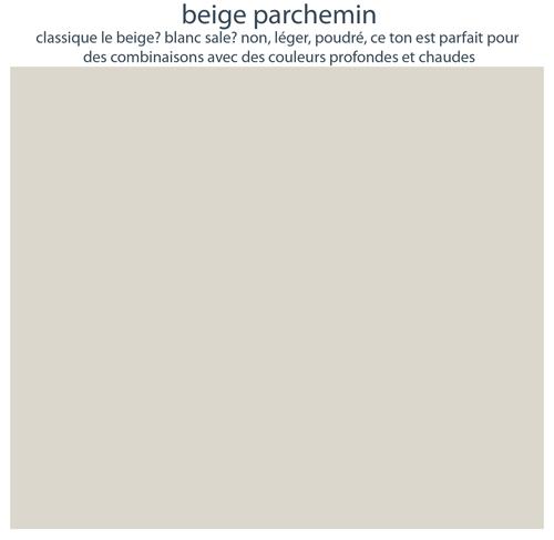 Couleurs de mobilier Les Pieds Sur La Table : 16 laques sélectionnées pour les meubles design Les Pieds Sur La Table, Beige parchemin