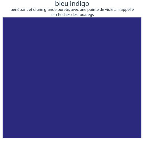 Couleurs de mobilier Les Pieds Sur La Table : 16 laques sélectionnées pour les meubles design Les Pieds Sur La Table, Bleu indigo
