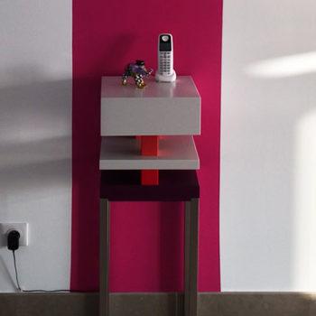 console design graphique Pied de-Grue mobilier Les Pieds Sur La Table réalisation maison