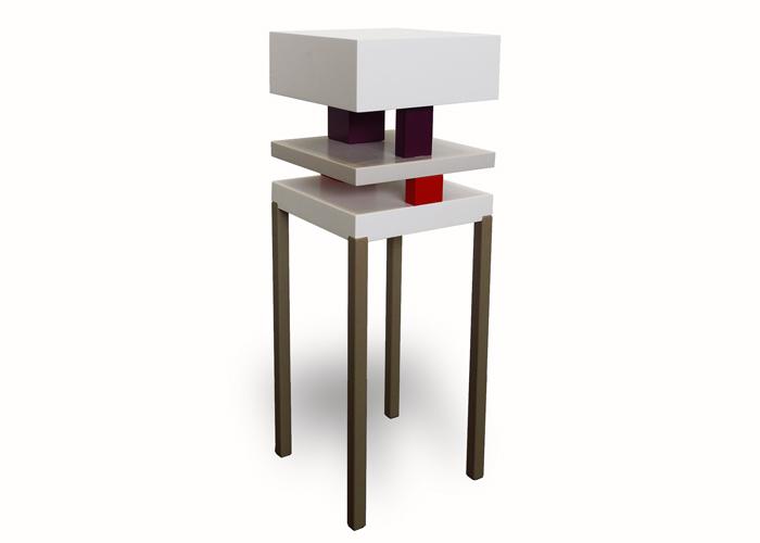 console design laqu e pied de grue mobilier les pieds sur la table. Black Bedroom Furniture Sets. Home Design Ideas