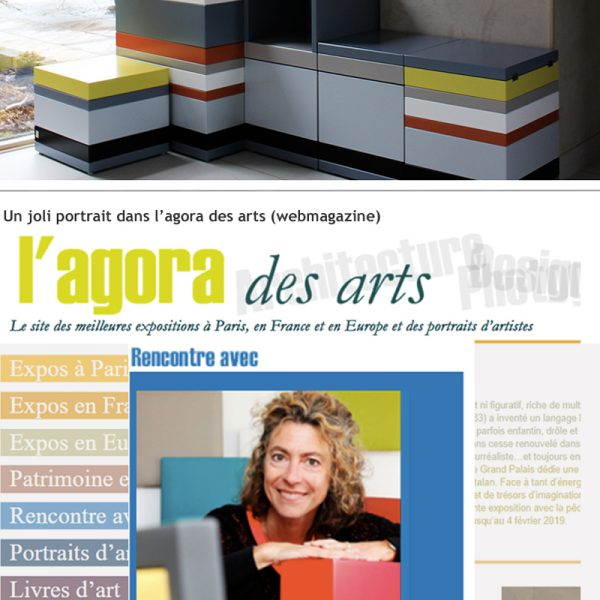 Mobilier design contemporain Les Pieds Sur La Table, créateur fabricant, Voeux 2019