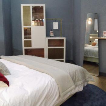prototype dressing et meuble minibar mobilier chambre hotel, penderie placard, mobilier Les Pieds Sur La Table