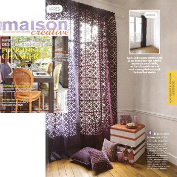 pouf en couleurs dans maison créative août 2012, Modèle Group-Pied design mobilier design modulable sur mesure et coloré Les Pieds Sur La Table