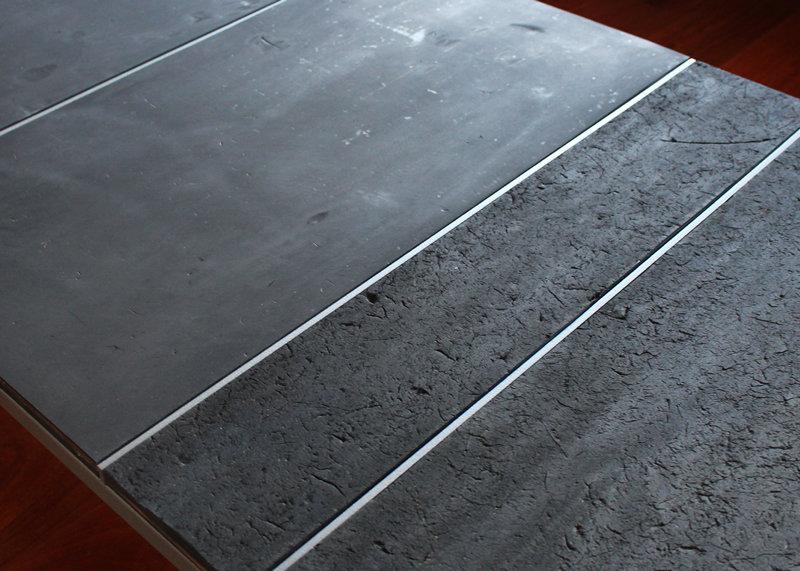 Table Basse Sur Mesure Laque Caoutchouc Recycle Pied G Mobilier