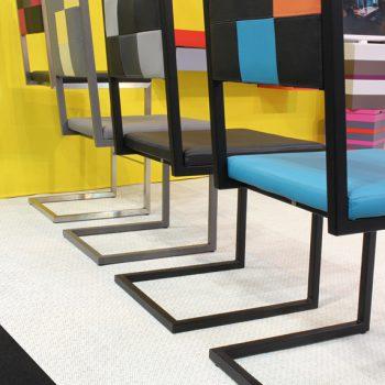 chaises design sur mesure Pied-Tine Collection Mobilier Les Pieds Sur La Table