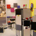 Paravent design marbre Tournis-Pied Mobilier Les Pieds Sur La Table